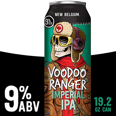 New Belgium Voodoo Ranger Imperial 19.2oz Can - 19.2 Fl. Oz.