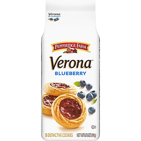 Pepperidge Farms Cookies Blueberry Lemon - 6.75 Oz