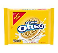 OREO Cookie Sandwich Golden Party Size - 25.5 Oz