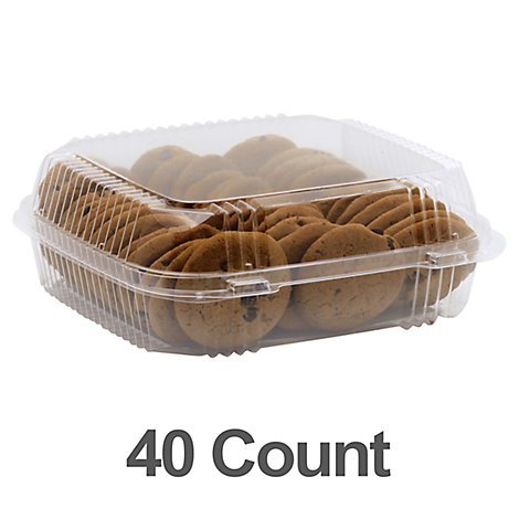 Mini Chocolate Chip Cookies 40ct