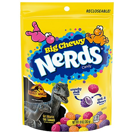 Nerds Candy Big Chewy Recloseable Pack - 10 Oz