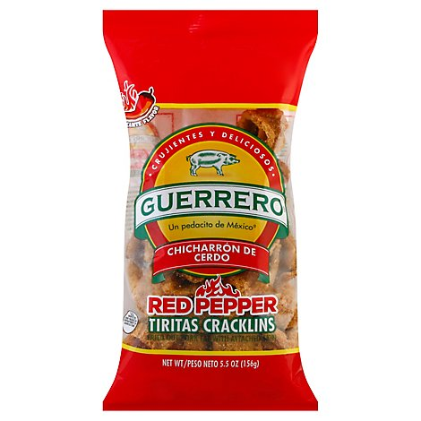 Guerrero Red Pepper Craklins - Each