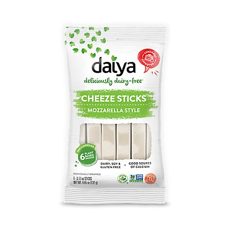 Daiya Sticks Cheeze Mozzarella - 4.66 Oz