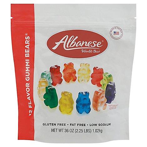 Albanese Gummies 12 Flavors - Online