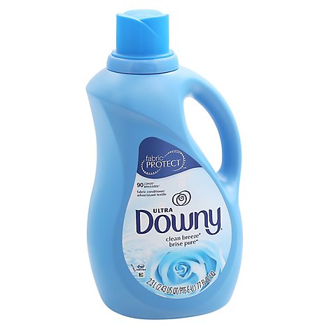 Downy Ultra Fabric Conditioner Liquid Clean Breeze - 77 Fl. Oz.