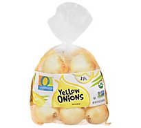 O Organics Organic Onions Yellow Prepacked Bag - 2 Lb