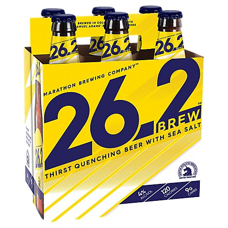 Marathon Brewing 26.2 Brew 6pk Bottles - 6-12 Fl. Oz.
