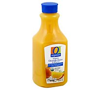 O Organics Orange Juice No Pulp W/Calcium - 52 Fl. Oz.