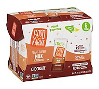 Good Karma Flaxmilk + Protein Chocolate - 6-6.75 Fl. Oz.