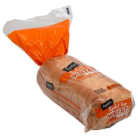 Signature Select Bread Split Top Wheat - 20 Oz