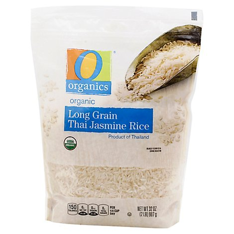 O Organics Rice Thai Jasmine Long Grain - 32 Oz