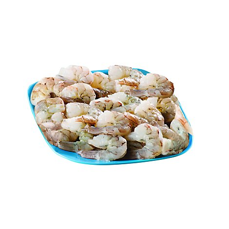 Seafood Service Counter Fair Trade Wild Mexican Shrimp 41 50 Count P&D Tail Off - 1 LB