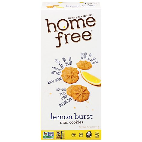 Homefree Cookies Mini Lemon Burst - 5 Oz