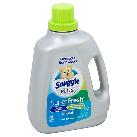 Snuggle Plus 6/78.3z Super Fresh - 78.3 Fl. Oz.
