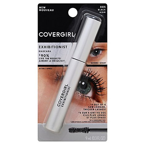 Covergirl Exhibitionist Mascara Black - Each