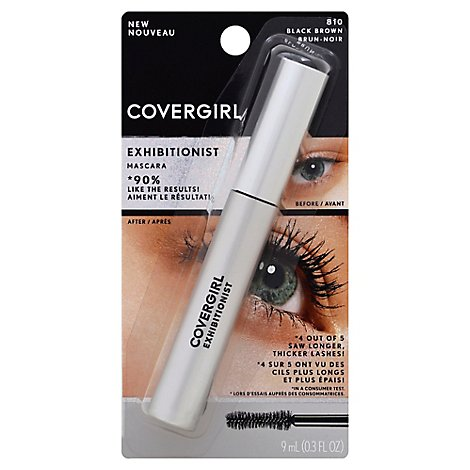 Covergirl Exhibitionist Black-Brown - Each