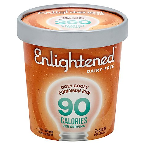 Enlightened Cinnamon Bun Ice Cream - 1 Pint