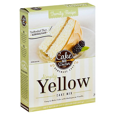 Cake Mix Doctor Cake Mix Simply Yellow - 18.25 Oz