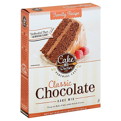 Cake Mix Doctor Cake Mix Classic Chocolate - 18.25 Oz