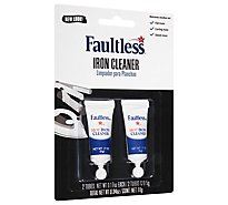 Faultless Iron Cleaner Hot - 2-0.17 Oz