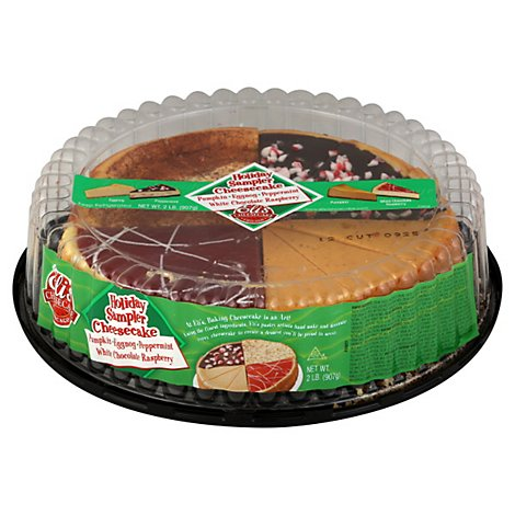 Elis Cheesecake Cheesecake Sampler Holiday - 2 Lb