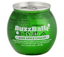 Buzz Balls Chillers Sour Apple Wine - 187 Ml