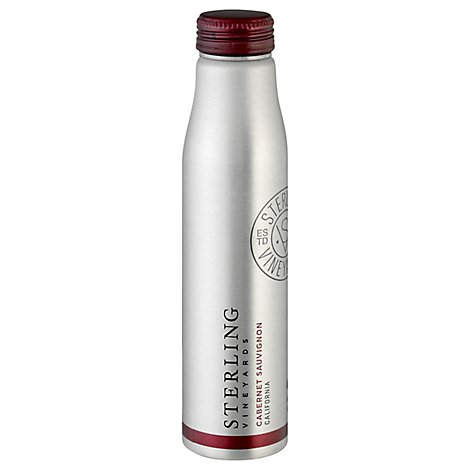 Sterling Aluminum Bottle Cabernet Sauvignon Wine - 375 Ml