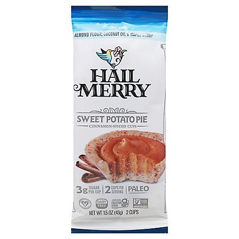 Hail Merr Cups Sweet Potato 2ct - 1.55 Oz