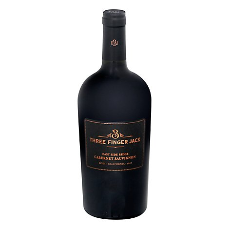 Three Finger Jack Lodi Cabernet Wine - 750 Ml