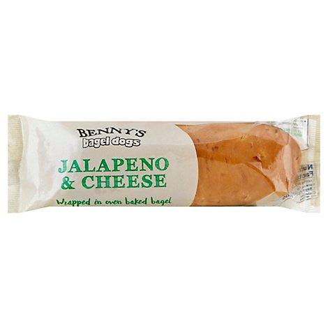 Bennys Bagel Dogs Jalapeno & Cheese - 5 Oz