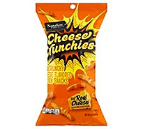 Signature Select Cheese Crunchies - 8 Oz
