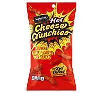 Signature Select Hot Cheese Crunchies - 8 Oz