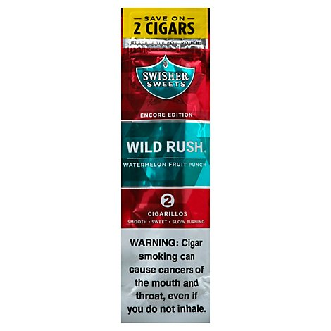 Swisher Sweet Wild Rush Cgrlo - 2 Count