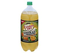 Canada Dry Ginger Ale And Orangeade - 2 Liter