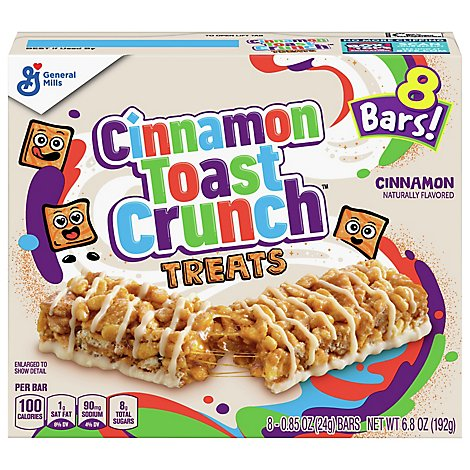 Cinnamon Toast Crunch Treats Bar Cinnamon - 8-0.85 Oz