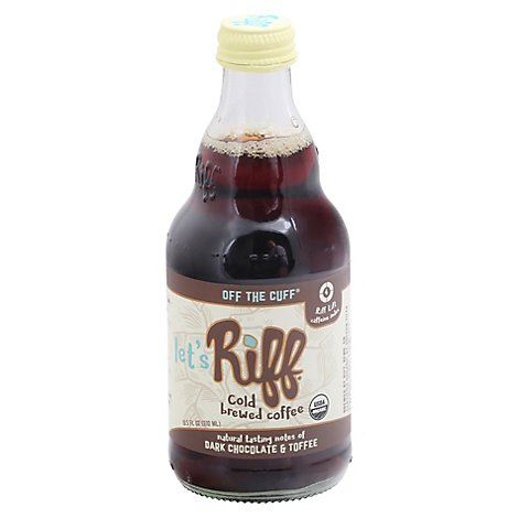 Riff Off The Cuff Cold Brewed Coffee - 10.5 Oz