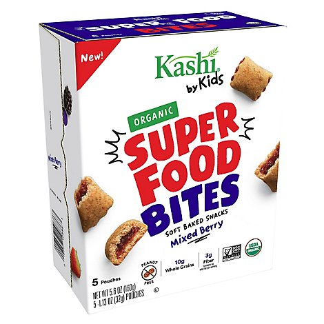Kashi by Kids Bites Mixed Berry 5 Count - 5.6 Oz