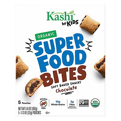 Kashi by Kids Bites Chocolate 5 Count - 5.6 Oz