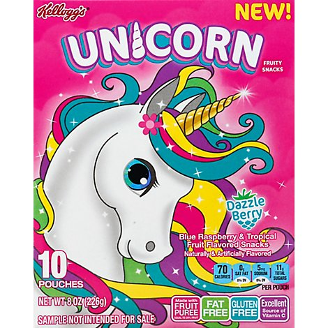 Kelloggs Other Licensed Fruit Pieces Unicorn - 8 Oz