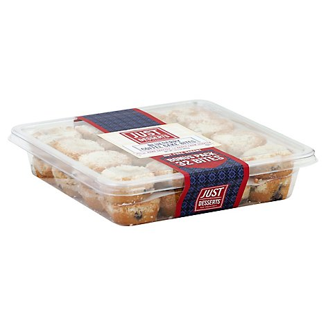 Just Desserts Blueberry Coffee Cake 32 Count - 18 Oz