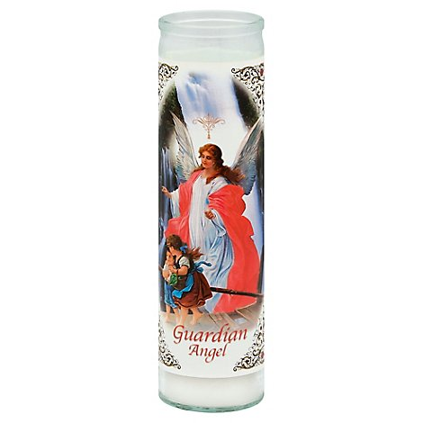 Bright Glow Candle Guardian Angel - Each