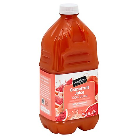 Signature Select 100% Juice Grapefruit - 64 Fl. Oz.