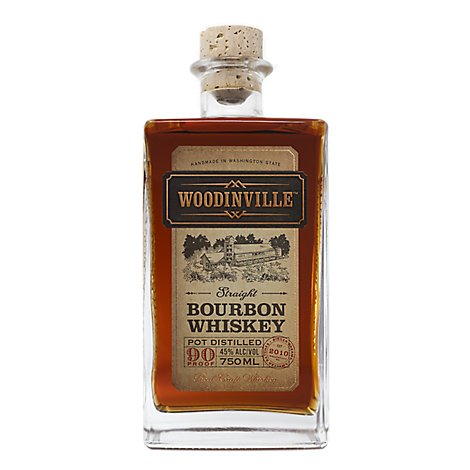 Woodinville Whiskey Straight Bourbon 90 Proof - 750 Ml
