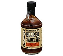 Johnnys Bold Sauce Beer Bbq Cooking - 12 Oz