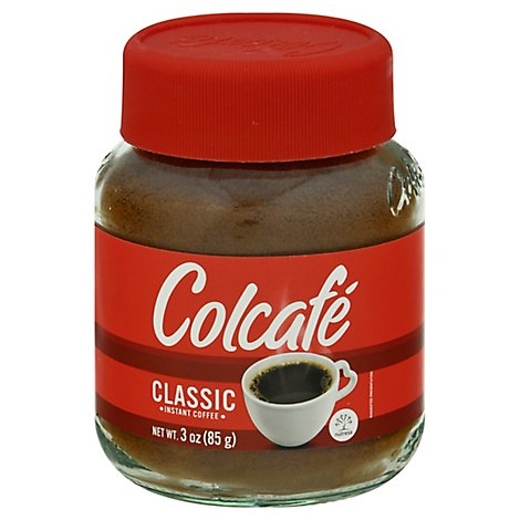 Colcafe Coffee Instant Colombian Classic - 3 Oz