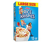 Rice Krispies Toasted Rice Cereal - 12 Oz