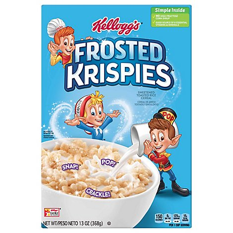 Frosted Krispies Breakfast Cereal Original - 13 Oz