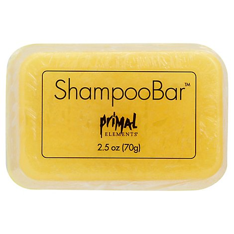 Primal Elements Tahitian Vanilla Shampoo Bar - 2.5 Oz