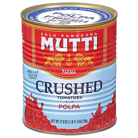 Mutti Tomatoes Finely Chopped - 28 Oz