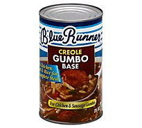 Blue Runner Gumbo Base Creole For Chicken & Sausage - 25 Oz